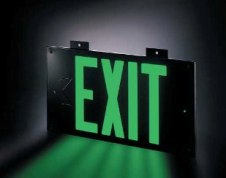 Photoluminescent Exit Sign - K&R Holdings, Inc.