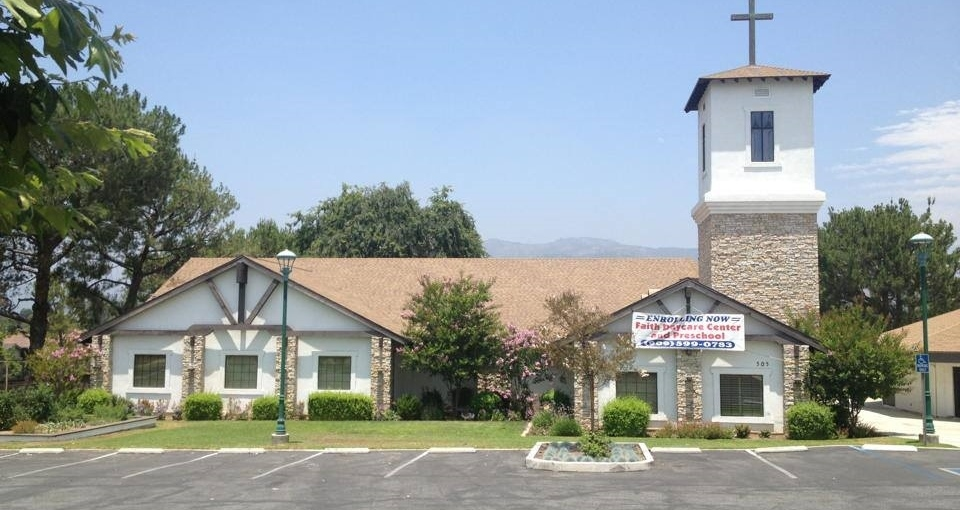 Faith Lutheran Church on Bonita Ave.  - Competition Roofing