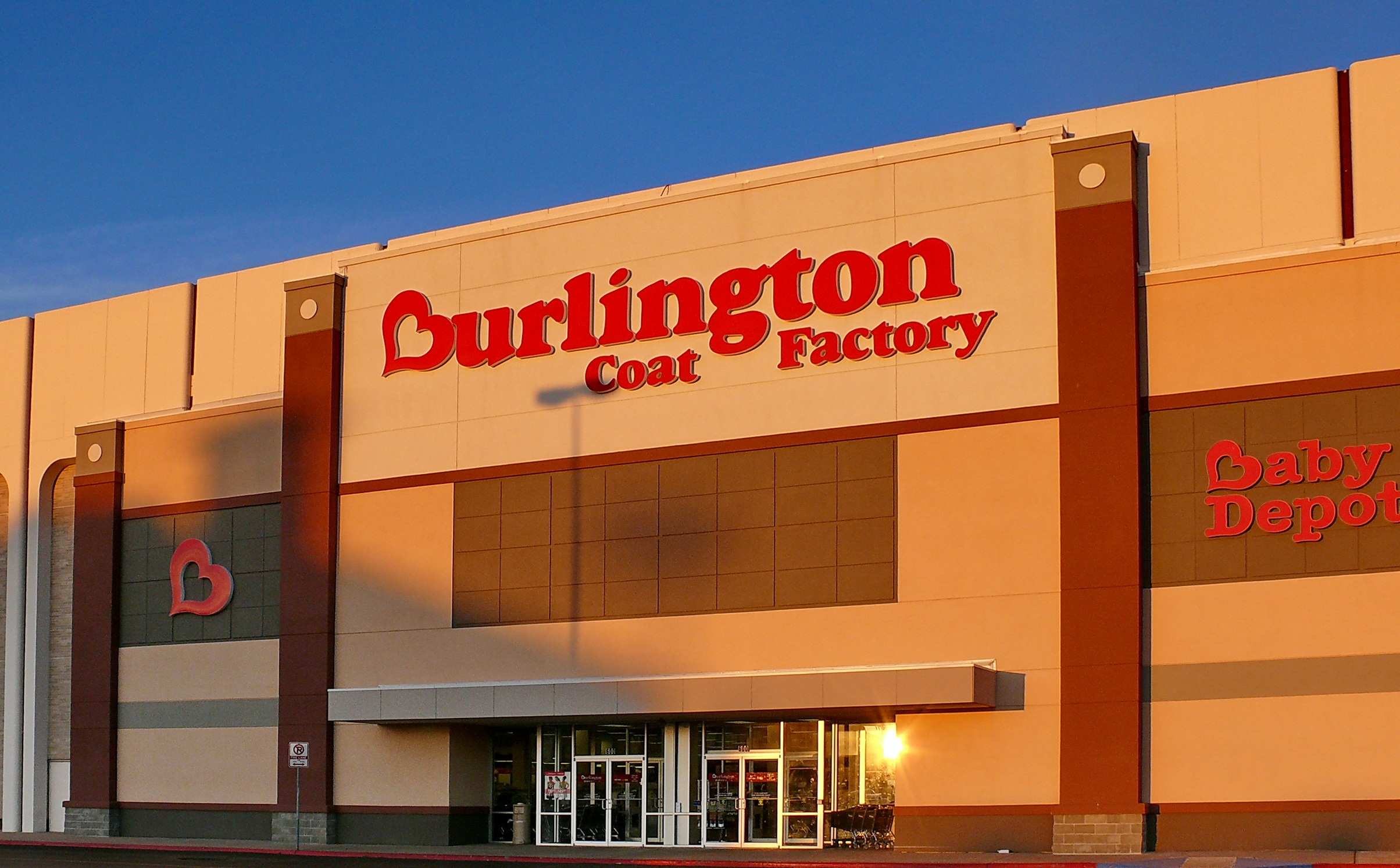 What We Offer. Burlington is a leading off-price apparel and home product retailer. We operate stores in 45 states and Puerto Rico, where you'll find a large assortment of current, high-quality, designer and name-brand merchandise at up to 65% off other retailers' prices.
