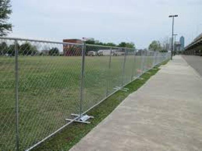 Travis Tritt Concert Temporary Fence By In Orlando Fl