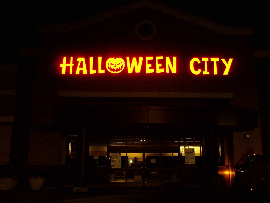 Halloween City Neon Sign - In A Bind Signs, Inc.