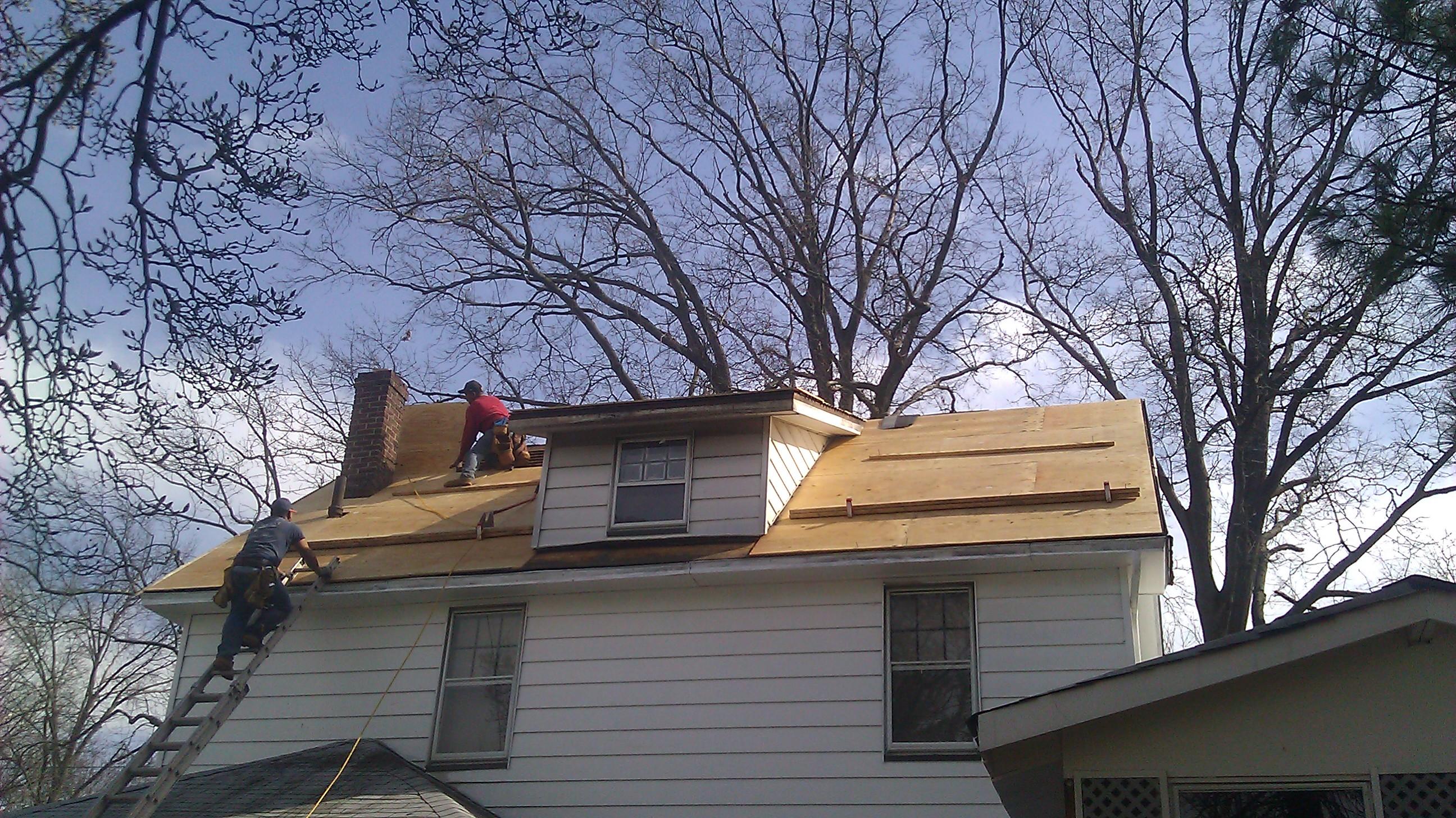 NJ Building Contractor LLC roofing job Image ProView