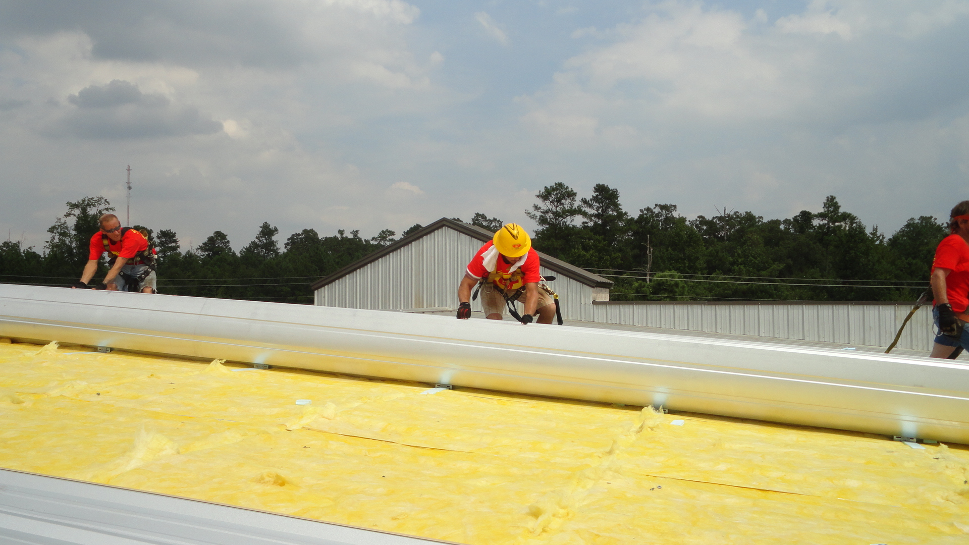 Safe Top Roofing Amp Remodeling Pbr Panel Re Roof Project