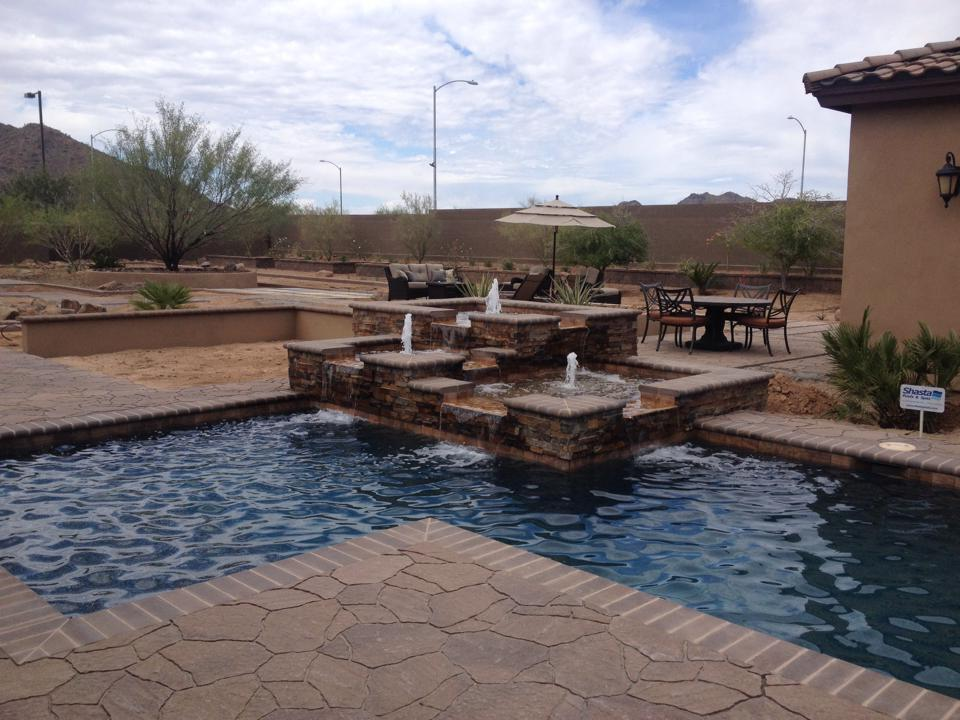 Shasta Pools Spas Phoenix Arizona Swimming Pool