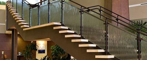 Stairs - Glass-Man Glass Corp.