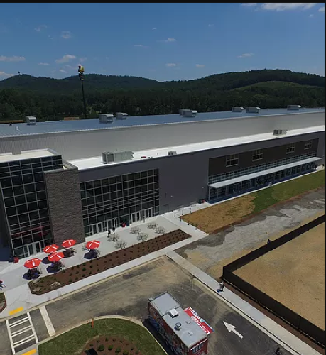 LakePoint Sporting Community Indoor Arena by in Emerson, GA