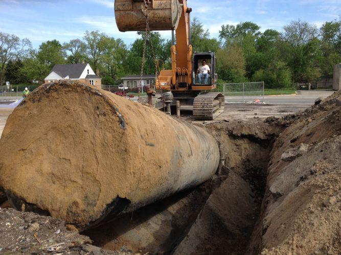 Storage Tank Demolition : Underground storage tank removal by ets environmental