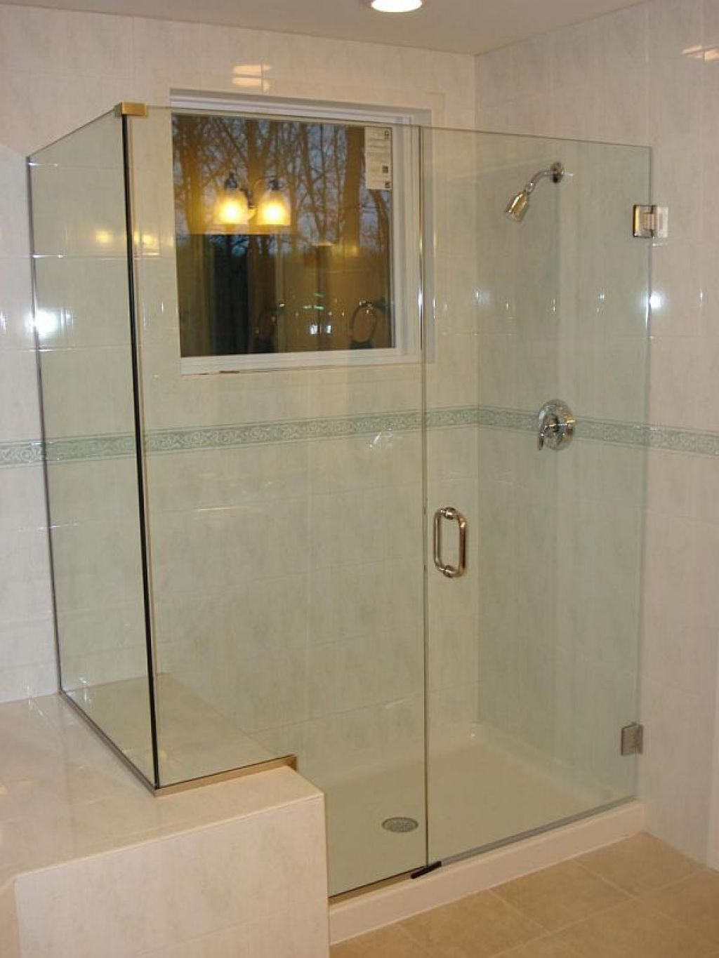 Denver Shower Door Mfg Inc Agalite 38 Glass Frameless Shower