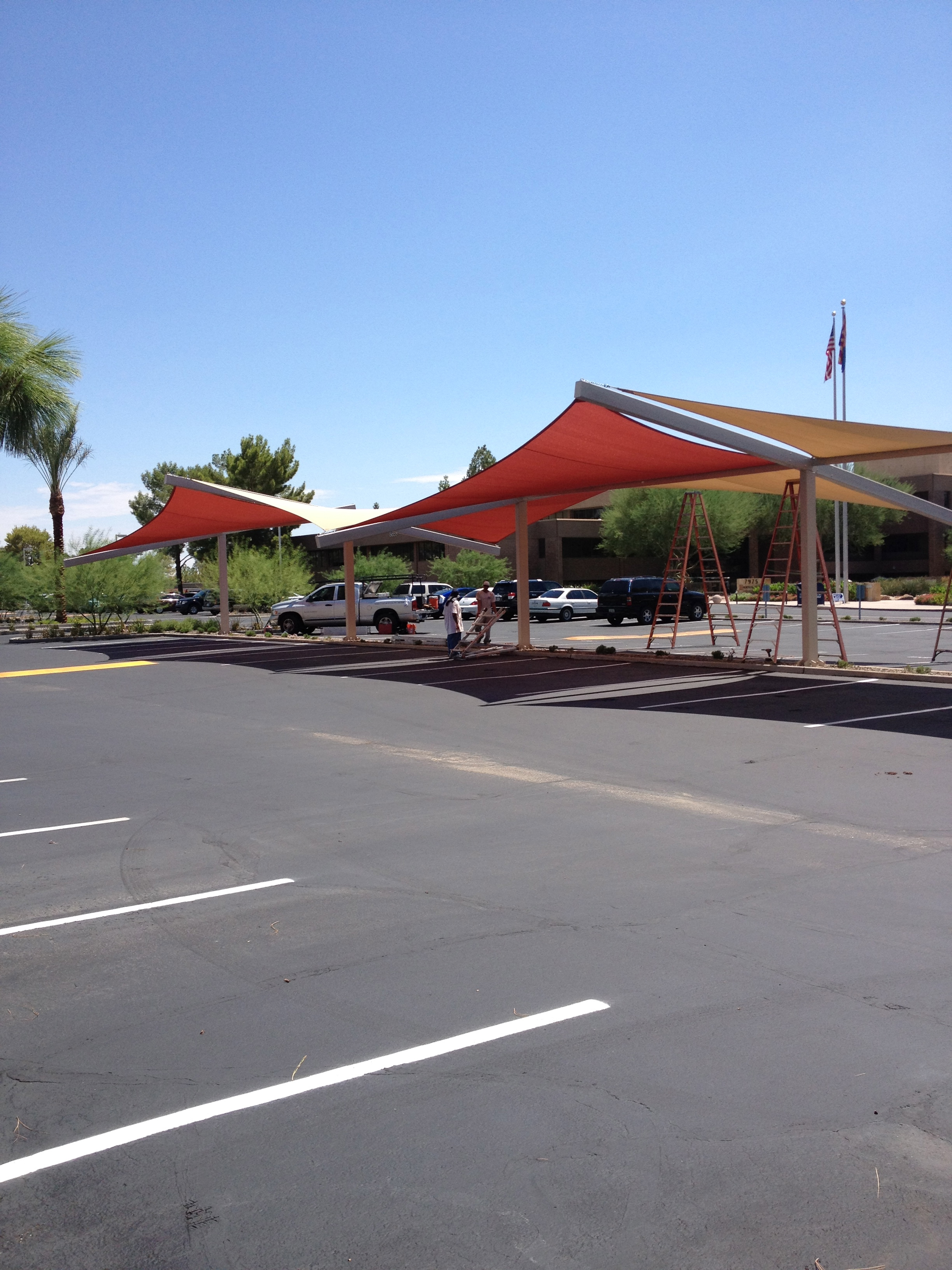 Parking lot Structure - AZ Shade Design & Consulting LLC