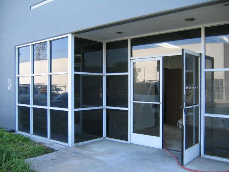 Retail Stores Storefront Aluminum Doors