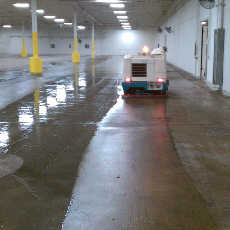 Auto Scrubber - Industrial Building Services