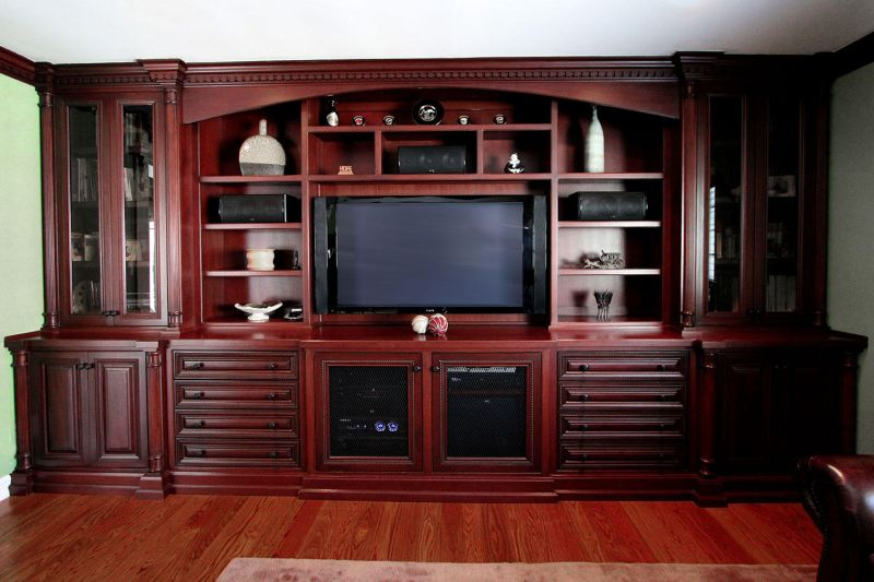 Entertainment Center  - Trade Custom Cabinets