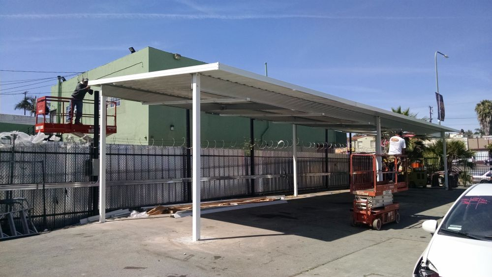 Aluminum Awning - The Other Guys - Awnings and Tint