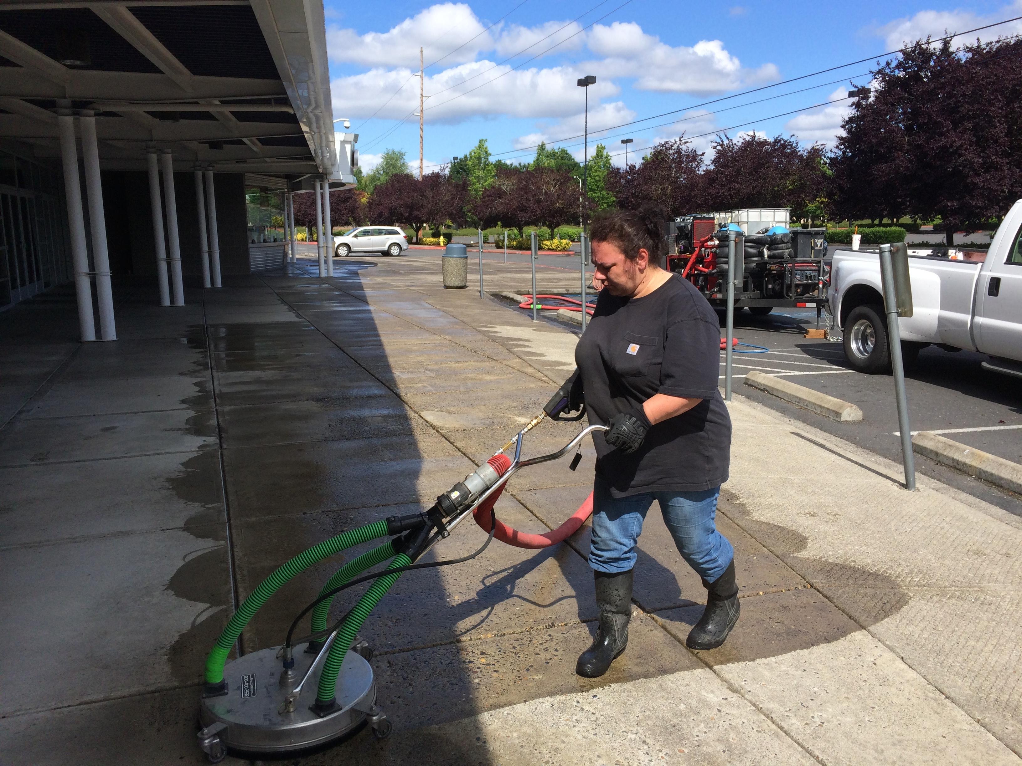 Paragon industries vancouver washington building for Concrete floor cleaning contractors