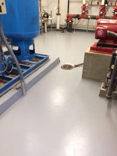 Associated Painting Epoxy Floors Auburn Massachusetts