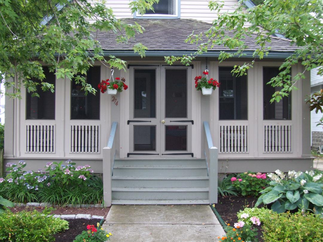 Vixen Hill Manufacturing Retrofit Porch W French Door Image Proview