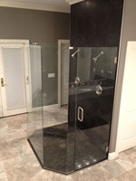 Frameless Shower Doors - Precision Glass LLC