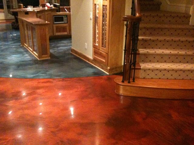 Architectural Concrete Floor : Superior decorative concrete video image gallery proview