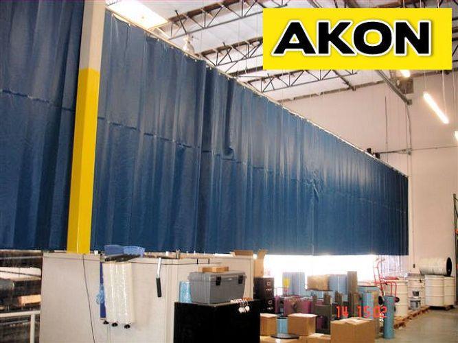 AKON Curtain And Divider Warehouse Curtains