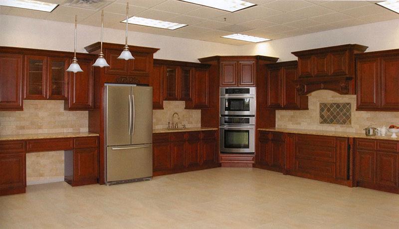 J K Cabinetry Mahogany Maple Glazed Cabinets Image Proview