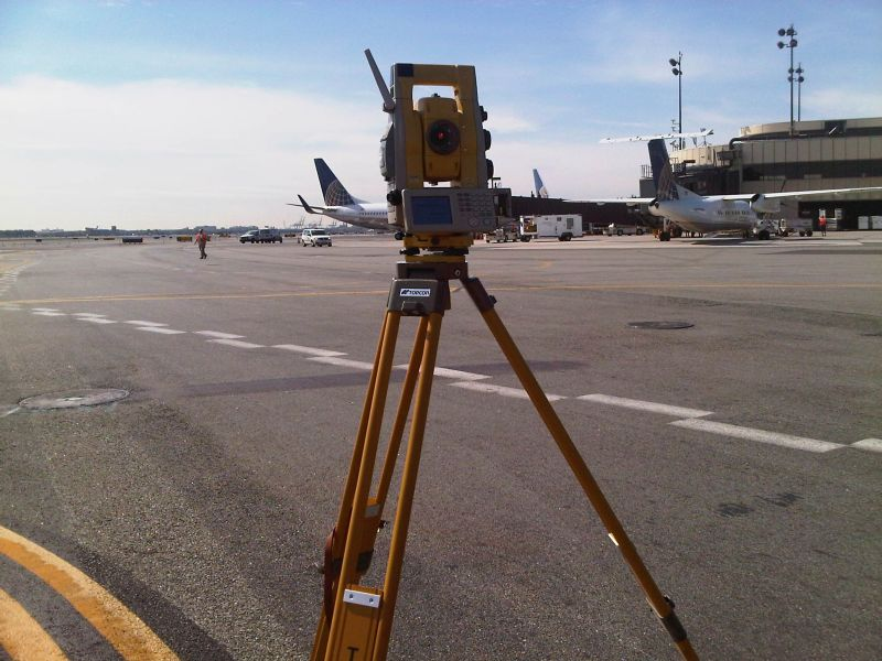 Continental Airlines Paving (Newark Liberty Airport)