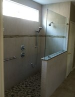 Custom Shower- Multiple Heads - Cornerstone Plumbing LLC
