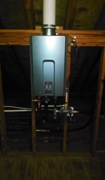 Tankless Water Heater - Cornerstone Plumbing LLC