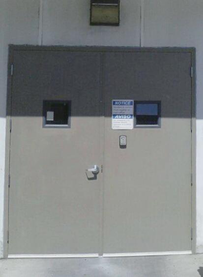 Double Hollow Metal Doors & Industrial Door Company - Double Hollow Metal Doors Image | ProView
