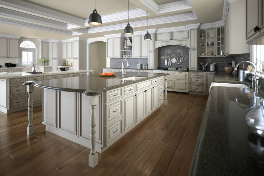 Ready To Assemble Kitchen Cabinets. Signature Vanilla & The RTA Store - Ready To Assemble Kitchen Cabinets Images | ProView
