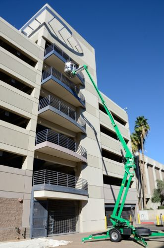 Arizona Department of Administration's Parking Garage Stairs and Railing Photo 4 - McBride Paint and Wall Coverings