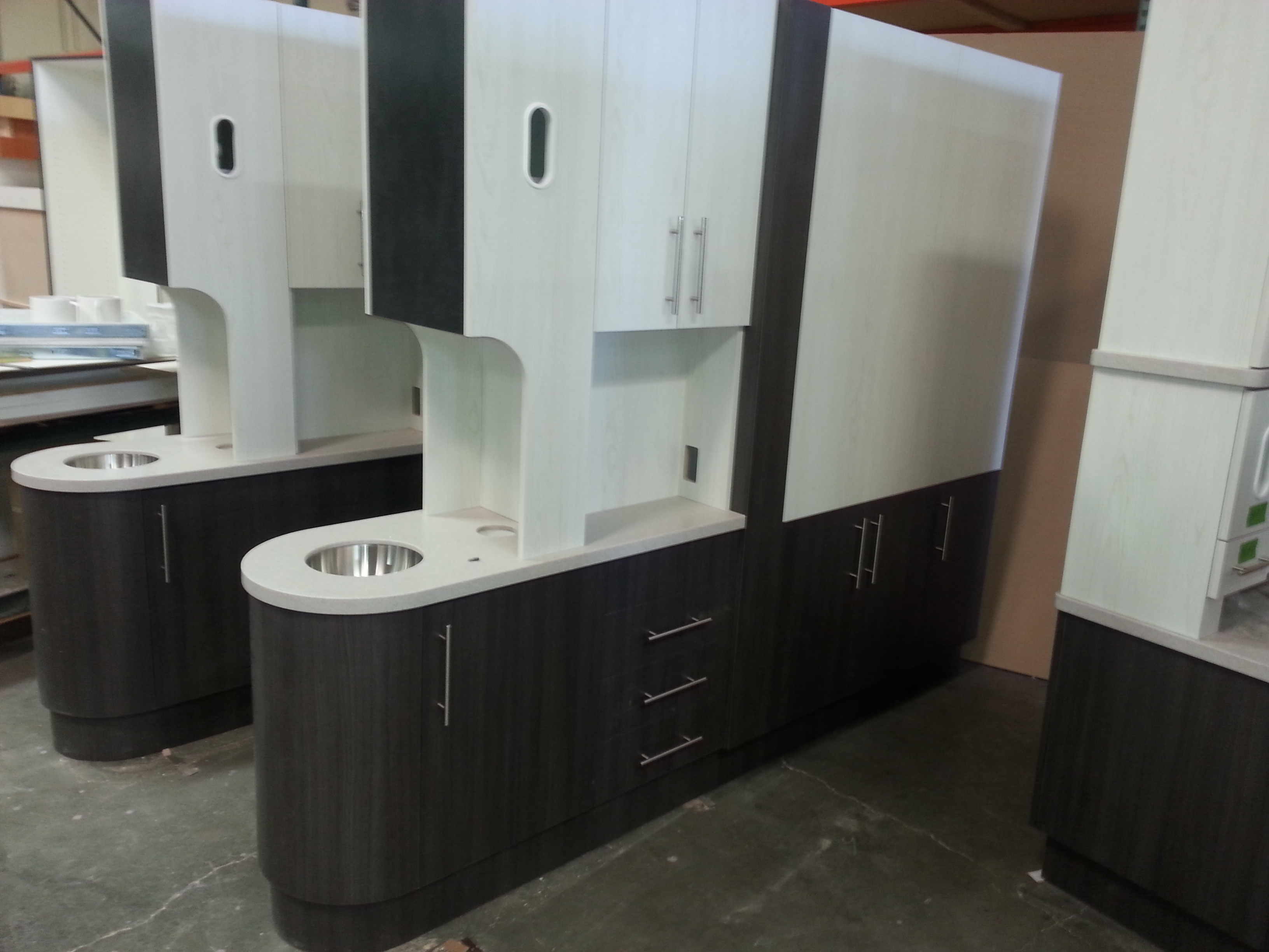 Nk Cabinets Inc Dental Office Center Island Image Proview