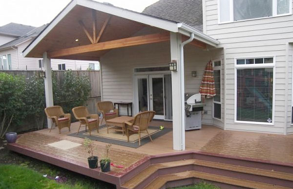 Patio & Deck Covers - Castle Construction and Well Drilling