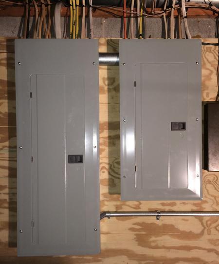 j moore electric 200 amp main service entrance \u0026 100 amp sub 100 Amp Service to Detached Garage 200 amp main service entrance \u0026 100 amp sub panel