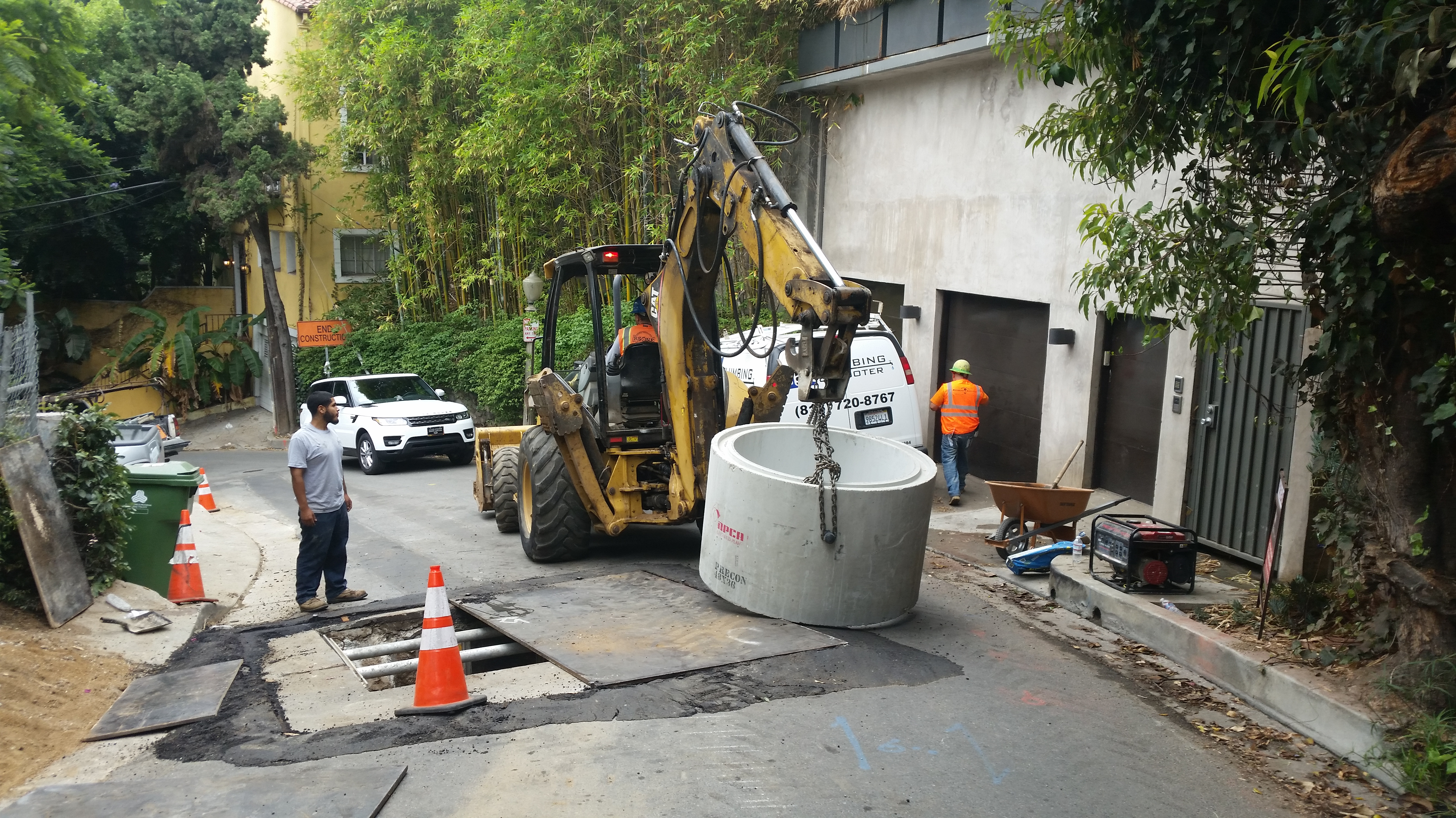 Man hole installation - R.S. One