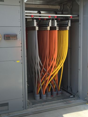 Custom Industries - 4000 amp service addition Photo 1 - TK Electric