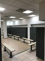 Andrews Air Force Base - Restroom Stalls and All