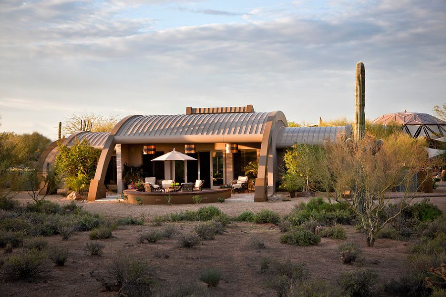 Desert Retreat - MG Building Systems