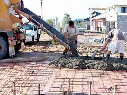 Concrete Pouring - Jalos Concrete Construction Inc.