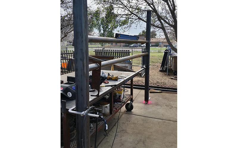 corral fence  - ROBERT'S Welding AZ LLC