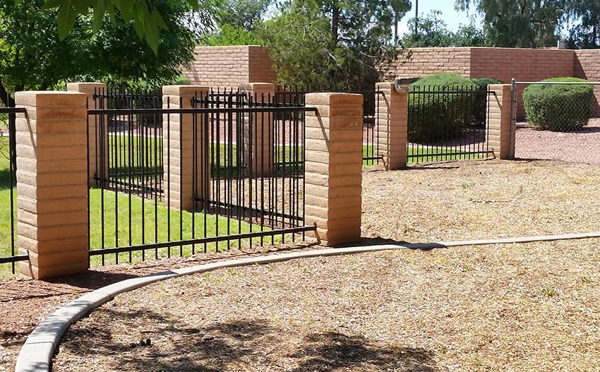 wrought iron fence - ROBERT'S Welding AZ LLC