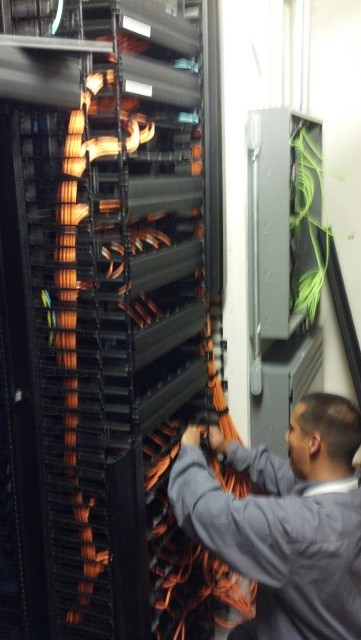 Infrastructure Cabling Contractor Based in Los Angeles, California - U.S. Tech Nation Corporation