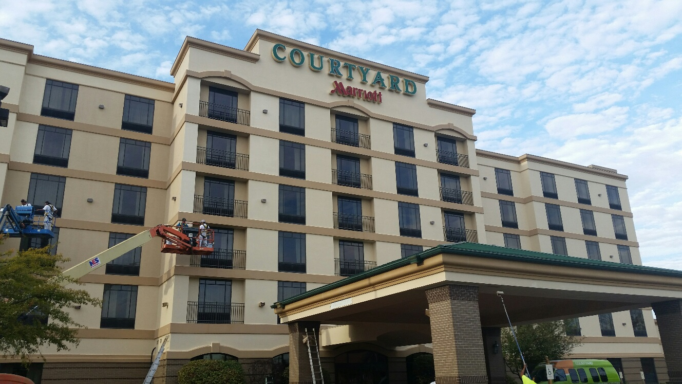 Courtyard  Marriott Hotel - Metanoia Construction Inc.