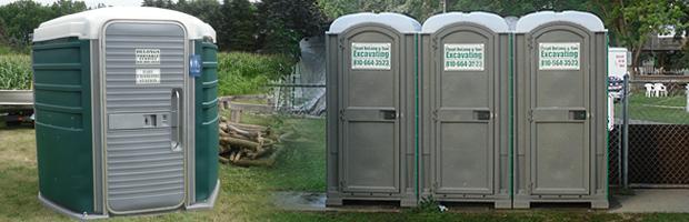Portable Toilets - Floyd Delong & Son Excavating