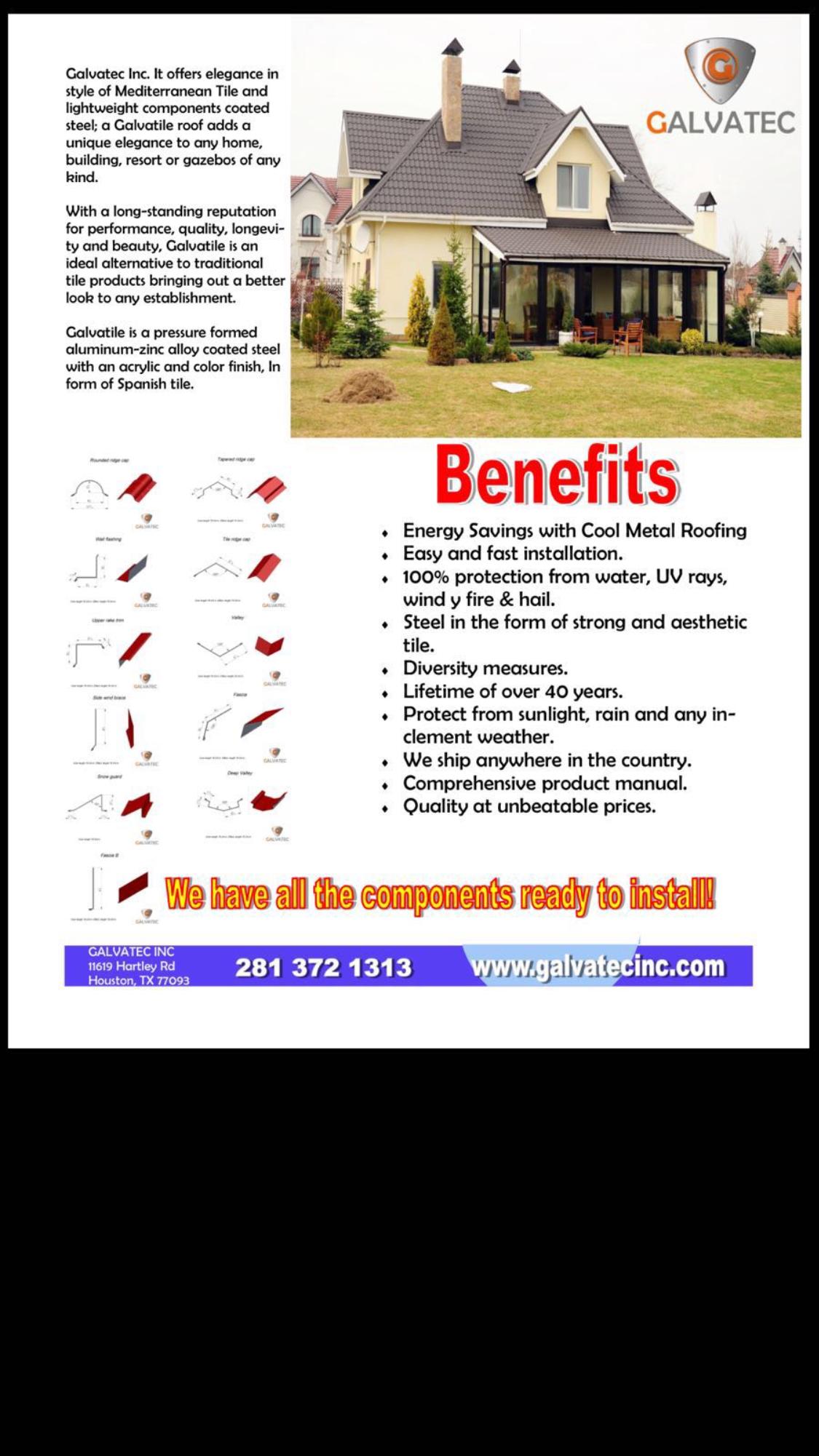 Galvatec Benefits Of Galvatile Image Proview