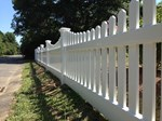 Vinyl Fence - Correia Custom Fence LLC