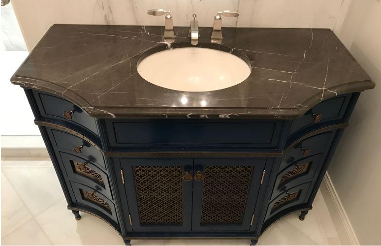 American Stone Restoration Marble Bathroom Vanities