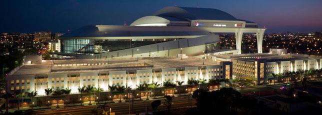 South Dade Lighting Miami Marlins Baseball Stadium Image