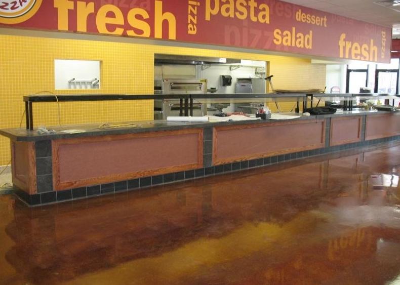 restaurant epoxy floor contemporary concrete creations gurnee illinois proview