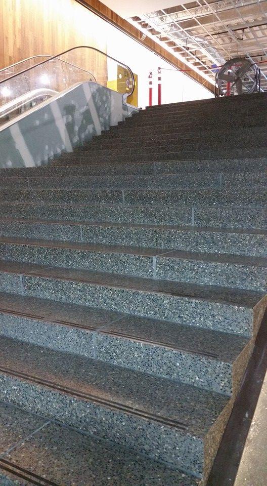 Terrazzo Precast Stairs