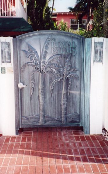 Gate at Royal Palms